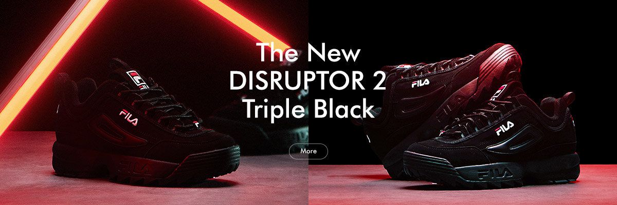 The New DISRUPTOR Ⅱ<br>Triple Black
