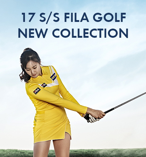 17 S/S FILA GOLF NEW COLLECTION