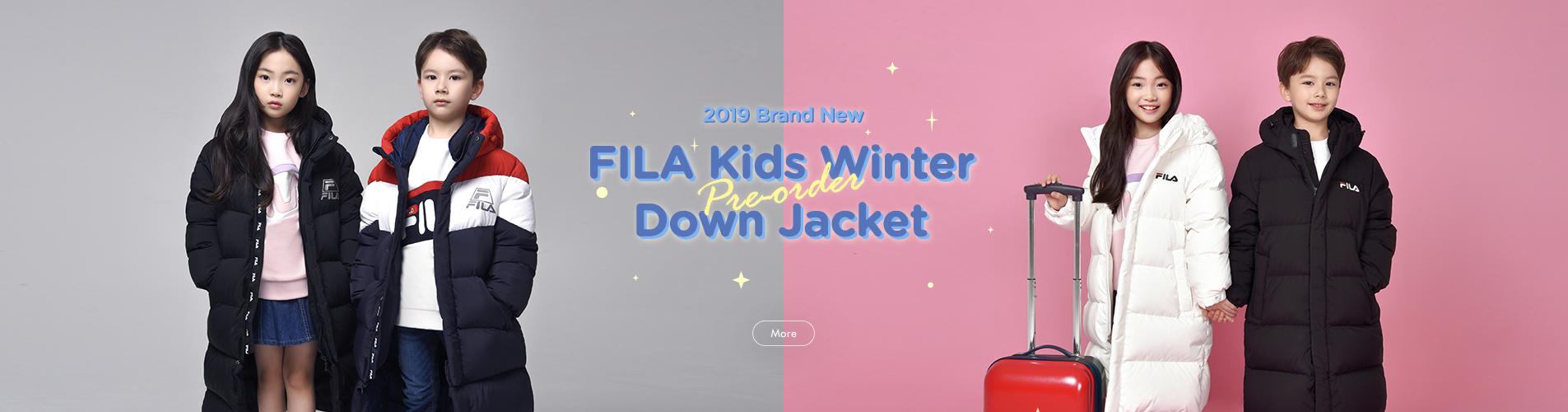 NEW FILA KIDS WINTER DOWN JACKET