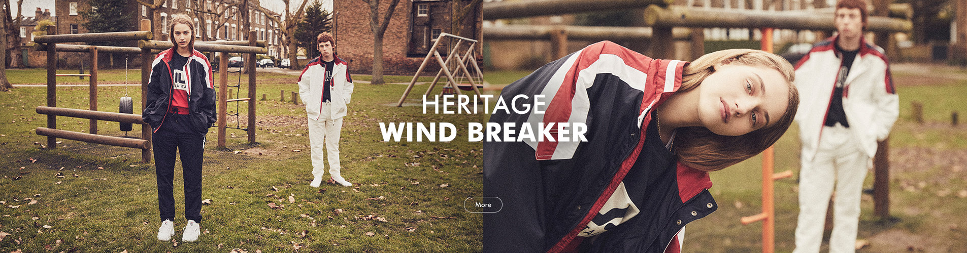 EXCLUSIVE  HERITAGE WIND BREAKER