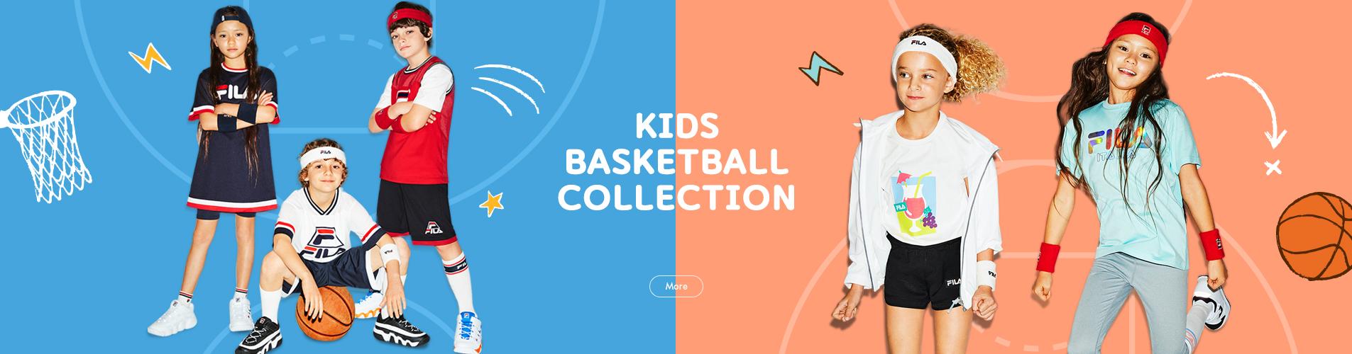 FILA KIDS BASKETBALL COLLECTION