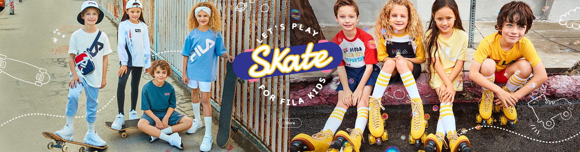LET'S PLAY SKATE FOR FILA KIDS