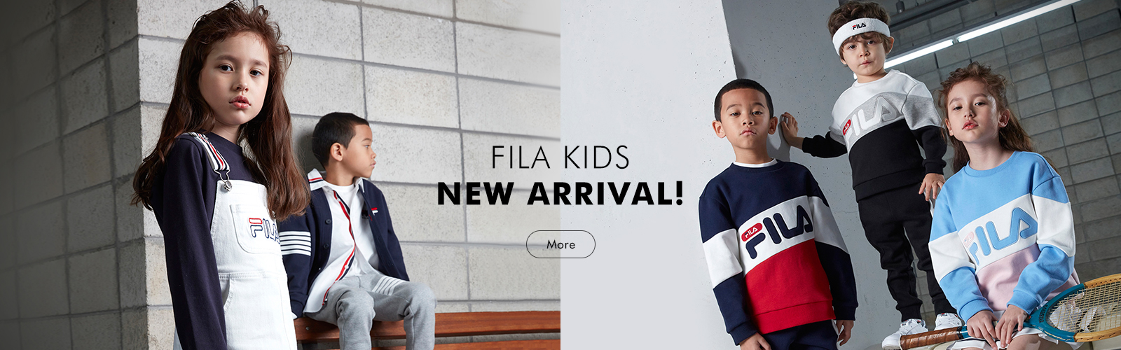 FILA KIDS 18 SS NEW COLLECTION