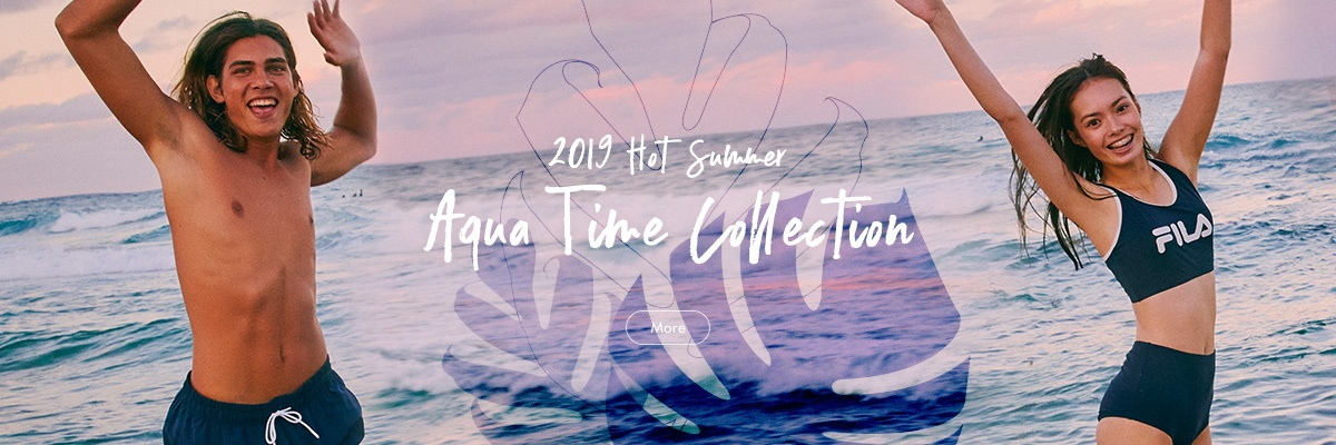 19 HOT SUMMER <br> AQUA TIME COLLECTION