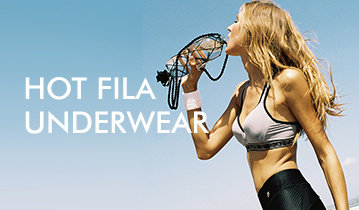 HOT SUMMER, HOT FILA UNDERWEAR