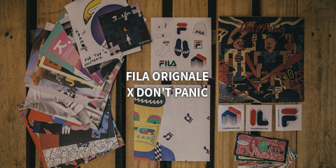 FILA ORIGINALE X DON'T PANIC