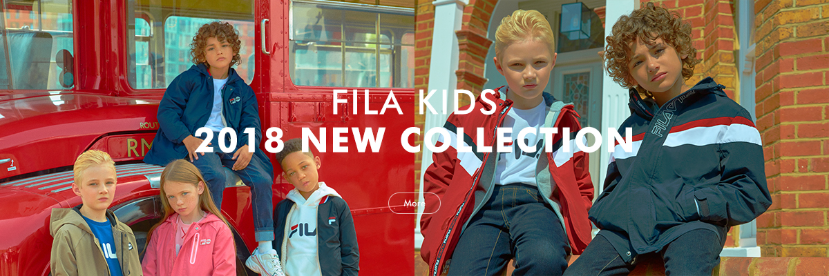 FILA KIDS 2018 NEW COLLECTION