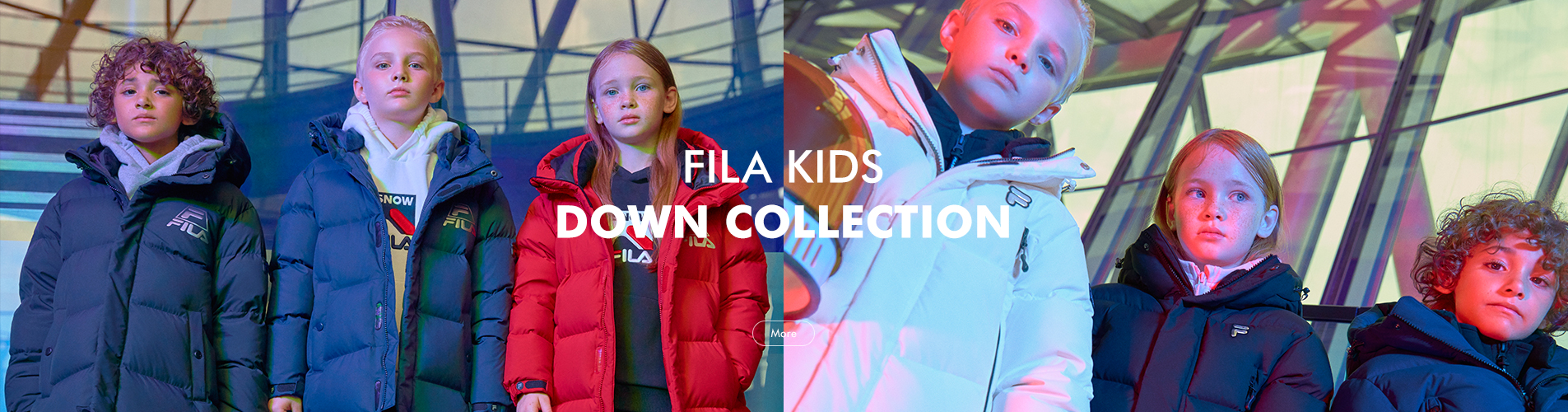 2018 KIDS DOWN COLLECTION