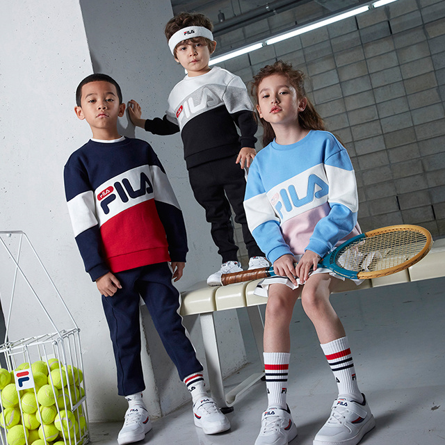 FILA KIDS 18 SS NEW COLLECTION mobile