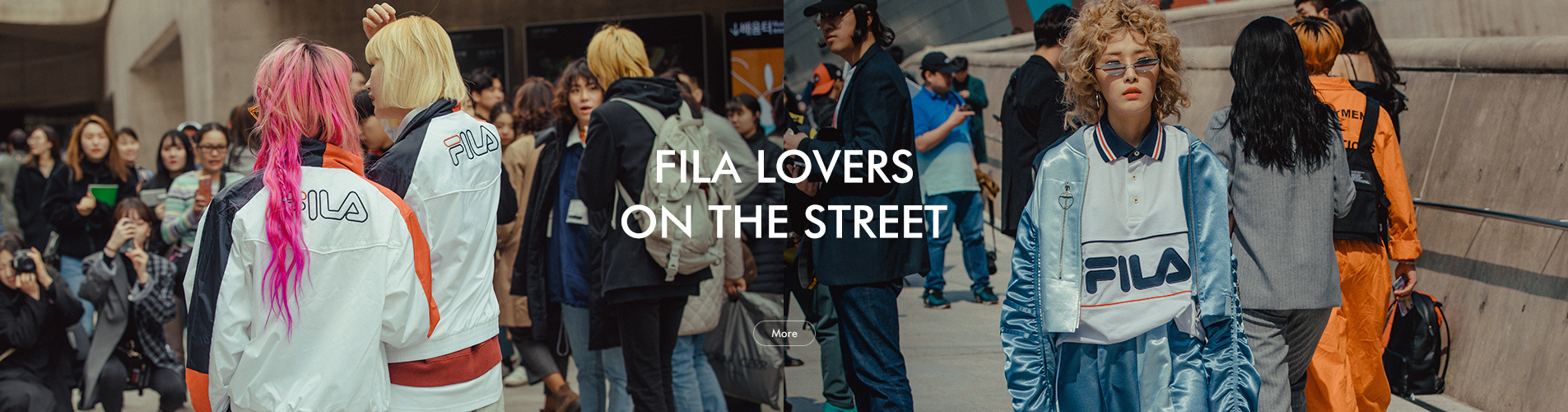 FILA LOVERS ON THE STREET